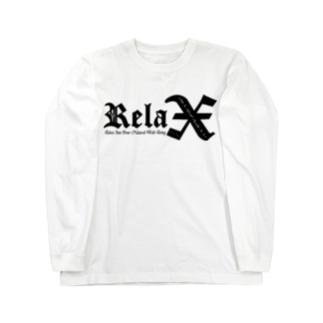 Relax(BLACK) Long sleeve T-shirts