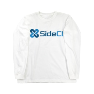 SideCI Blue Long sleeve T-shirts