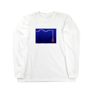 ストップ安 Long sleeve T-shirts