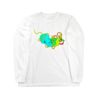 カラフルベイビーTシャツ Long sleeve T-shirts