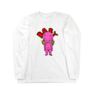 ピンクベイビーTシャツ Long sleeve T-shirts