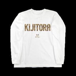 SHOP W SUZURI店のKIJITORA ロングスリーブTシャツ Long sleeve T-shirts