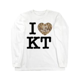 I ♥ Kiji Tora ロングスリーブTシャツ Long sleeve T-shirts