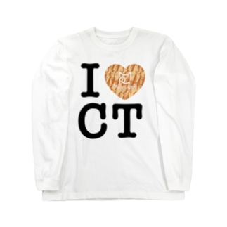 I ♥ Cha Tora ロングスリーブTシャツ Long sleeve T-shirts