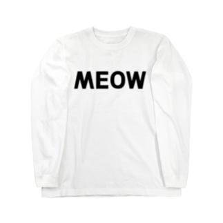 MEOW ロングスリーブTシャツ Long sleeve T-shirts