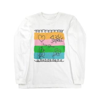 よんしょく Long sleeve T-shirts