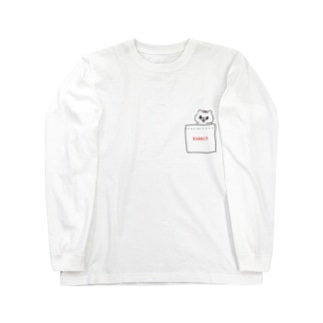 ポッケにkumaco Long sleeve T-shirts
