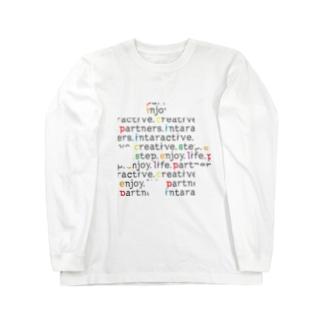 picsel font 03 Long sleeve T-shirts