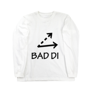 クロマキバレットのBAD DI Long sleeve T-shirts