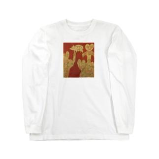 縄文土器 Long sleeve T-shirts
