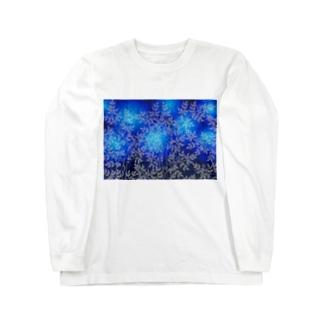 森の猫たち Long sleeve T-shirts