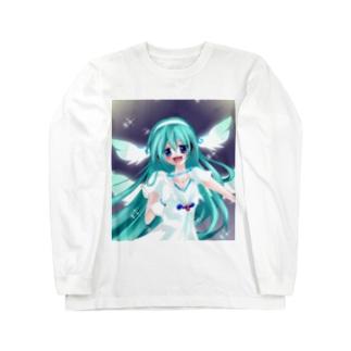初音ミク エンジェル Long sleeve T-shirts