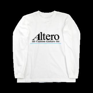 Altero_Custom_GuitarsのAltero Custom Guitars02(淡色向け) Long sleeve T-shirts