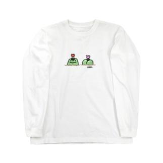 花壇たかし Long sleeve T-shirts