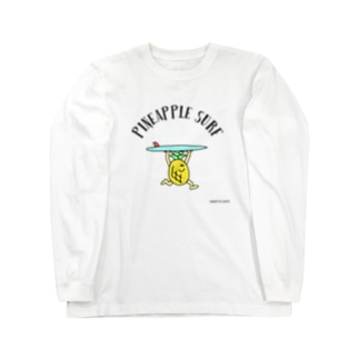 PINEAPPLE SURF Long sleeve T-shirts