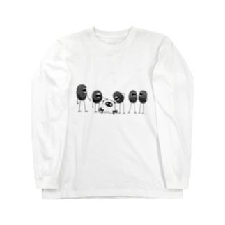 角オバケと弱き者 Long sleeve T-shirts
