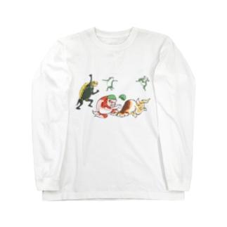 金魚づくし現代版 YAKYU Long Sleeve T-Shirt
