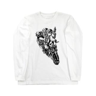 ピコピコハンマーと水鉄砲 Long sleeve T-shirts