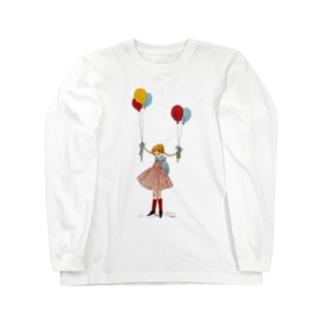 風船 Long sleeve T-shirts