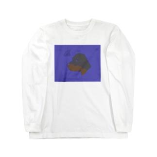 ロットワイラー Long sleeve T-shirts