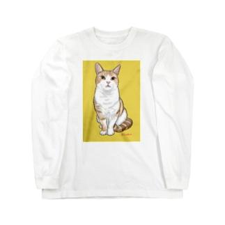 アメショのボワちゃん Long sleeve T-shirts