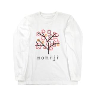 picsel tree 04 momiji Long sleeve T-shirts