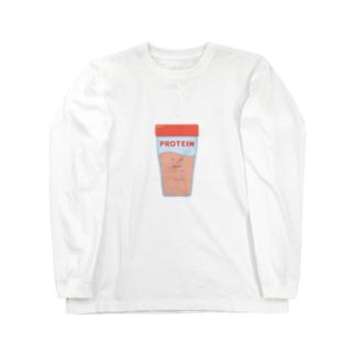 プロテインくん Long Sleeve T-Shirt