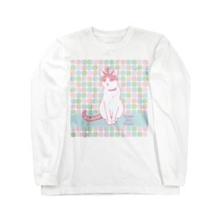 天然ガール・ピルク Long sleeve T-shirts