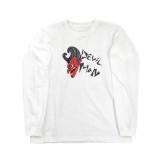悪魔男爵Tシャツ Long sleeve T-shirts