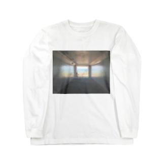 癒しの風景(海への入口) Long sleeve T-shirts