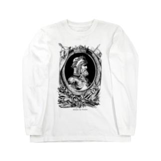Gottfried von Bouillon Long sleeve T-shirts