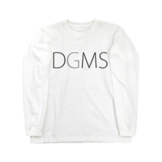 CUROGNACのDGMS(Dan-Go-Mu-Shi) Long sleeve T-shirts