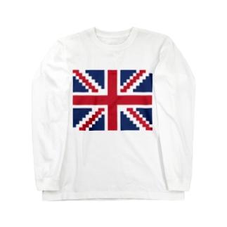 ユニオンジャック Long sleeve T-shirts