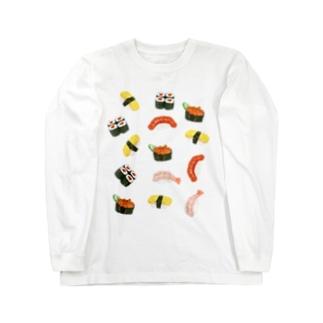 お寿司散らばし Long Sleeve T-Shirt