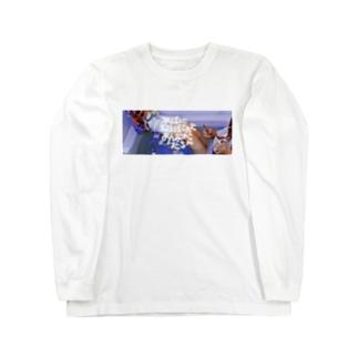 平成に取り残されたおんなのこたちへ(写真と文字ver) Long sleeve T-shirts