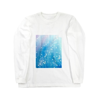 LUCENT LIFE 水 / Water Long sleeve T-shirts