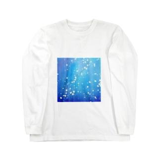 水 / Water Long sleeve T-shirts