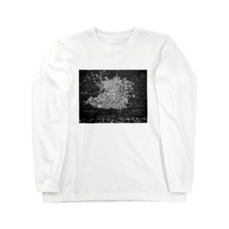 夜景 Long sleeve T-shirts