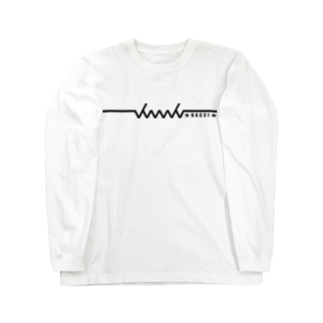 dacci newロゴ文字有(黒) Long sleeve T-shirts