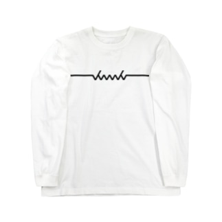 dacci newロゴ(黒) Long sleeve T-shirts