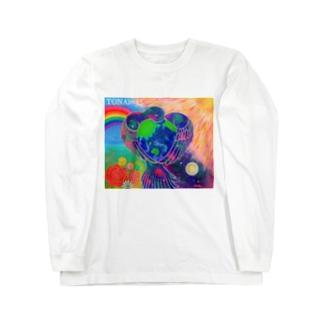宇宙鳥 Long sleeve T-shirts