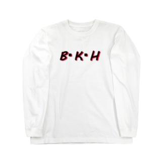 B・K・H Long sleeve T-shirts