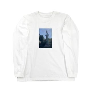 ストレートネック Long sleeve T-shirts