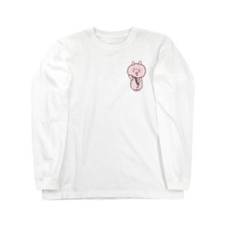 クラリネットのスワブが抜けない Long sleeve T-shirts