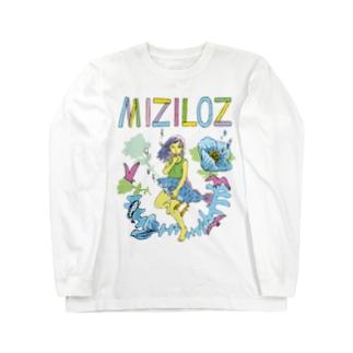 MIZILOZ《ミズイロズ》 Long sleeve T-shirts