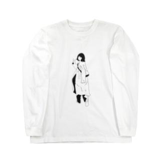 三茶ガール#8 Long sleeve T-shirts