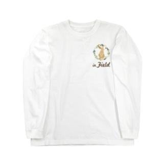 in Field ロゴ Long Sleeve T-Shirt