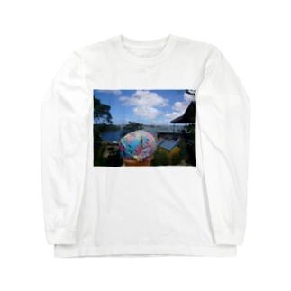 レインボー アイスクリーム Long sleeve T-shirts