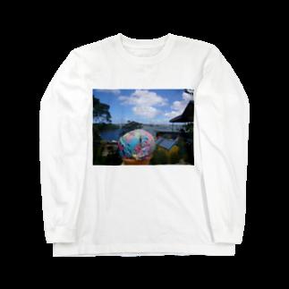 loveisloveのレインボー アイスクリーム Long sleeve T-shirts