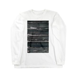 木目調 Long sleeve T-shirts